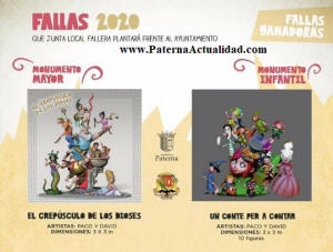 Calendario Fallero 2020.Fallas Paterna